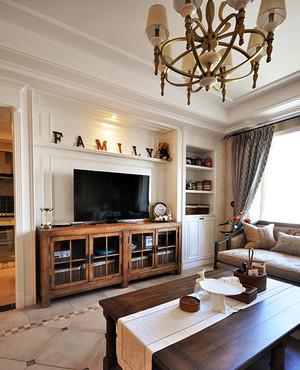 三室一厅客厅设计