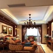 美式风格沙发