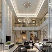 欧式风格别墅客厅