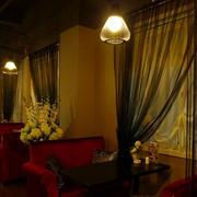 温馨色调咖啡厅