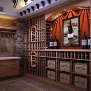 酒窖背景墙设计