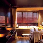 暖色调spa会所设计