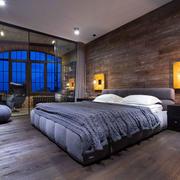 三室两厅主卧背景墙
