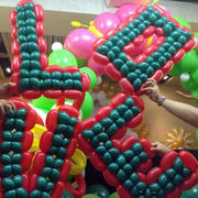 love造型气球设计