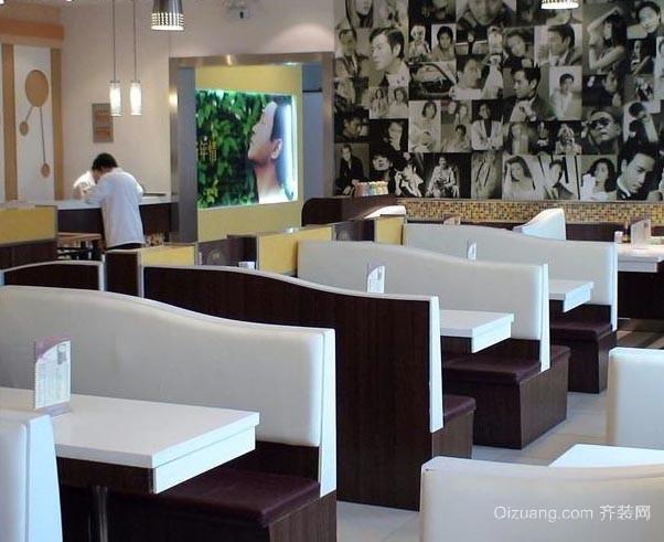 2015传统沙发和餐椅功能综合衍生的时尚餐厅卡做沙发装修效果图