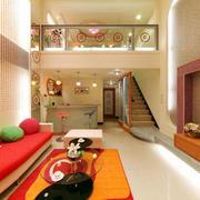 复式楼客厅设计
