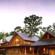 塔尖型木屋设计