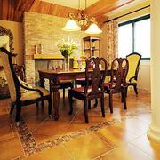 别墅餐厅图片