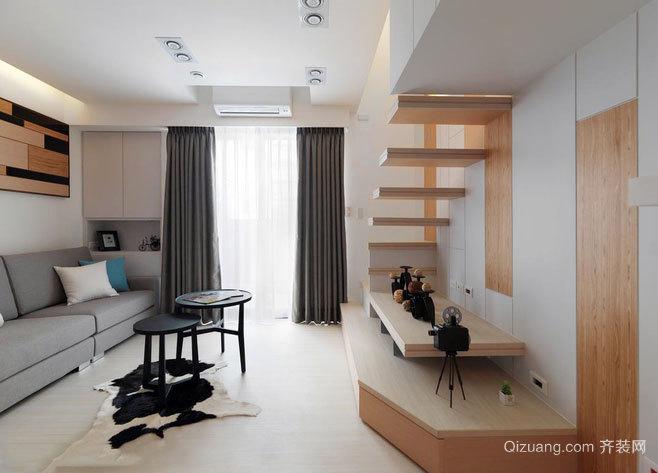 20平米小户型新概念超强设计的跃层小雀居世界