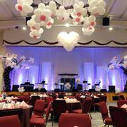 婚礼现场气球设计