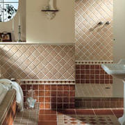 米色调卫生间瓷砖