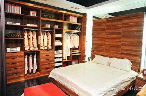 衣服也要温暖的家:宜家衣柜设计效果图片