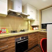 温馨色调两室一厅图片