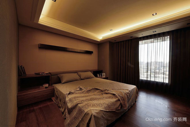 180平米布局合理理性的精粹奢美别墅装修效果图