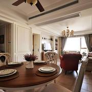 三室一厅餐桌图片