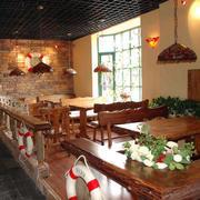 传统型餐馆吊顶