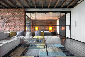 122平米三室两厅两卫装修效果图:营造整体舒适感