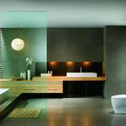 整洁明亮型浴室