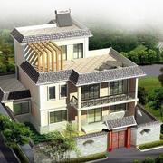 农村自建房俯视图