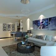 白色调沙发设计