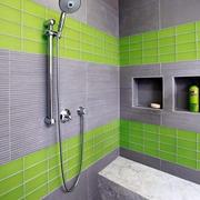 清爽型卫生间瓷砖
