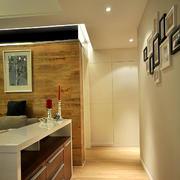 两室一厅玄关设计