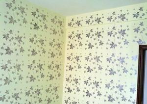 墙壁大变样:色彩丰富的液体墙纸图片效果图大全