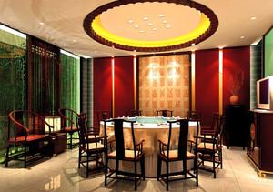 勾出你的馋虫:独特到位的特色餐馆吊顶装修效果图鉴赏
