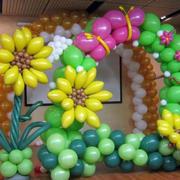 气球拱门设计