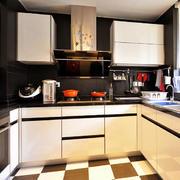 三室一厅厨房图片