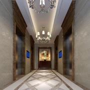 美容院走廊吊顶图片