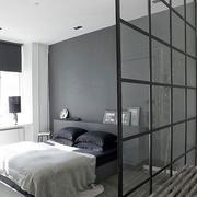 卧室玻璃隔断图片