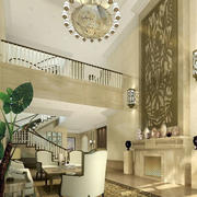 清新型别墅客厅