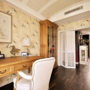 淡雅风格三室一厅图片
