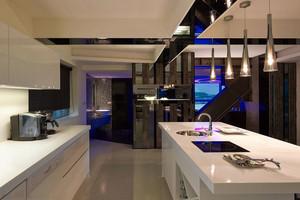 时空隧道 保留内心纯粹本质的单身公寓装修效果图