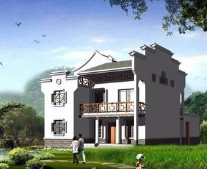 悠然淳朴的民风:现代简约农村自建房设计图大全欣赏