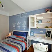 蓝色调房屋装修