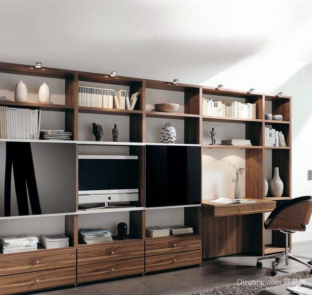 可以给你不同感受的室内板式家具装修设计效果图