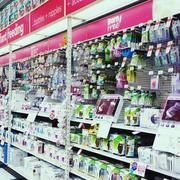 大超市货架图片