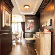 三室一厅玄关柜设计
