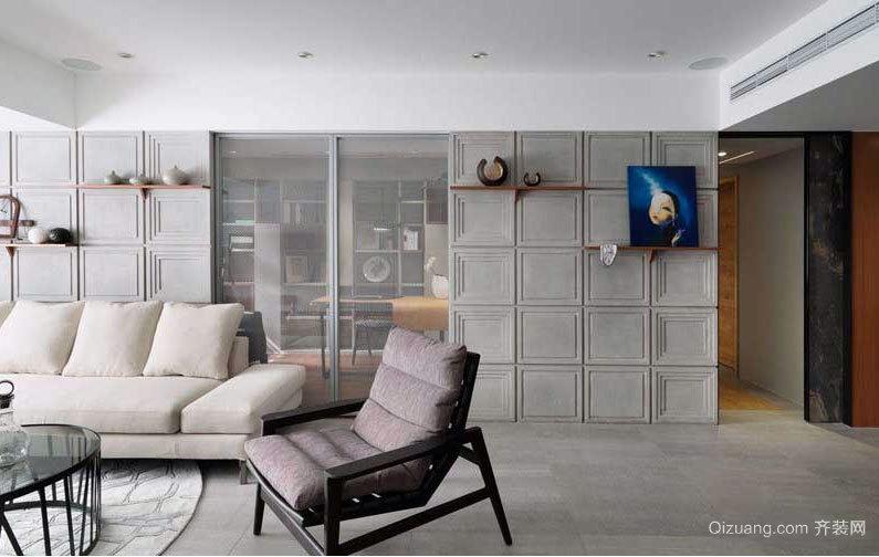 只有想不到,没有做不到 混搭风格大户型老房室内装修设计效果图