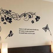 简约型墙贴设计
