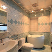 卫生间瓷砖装修图片
