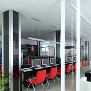 网吧桌椅设计