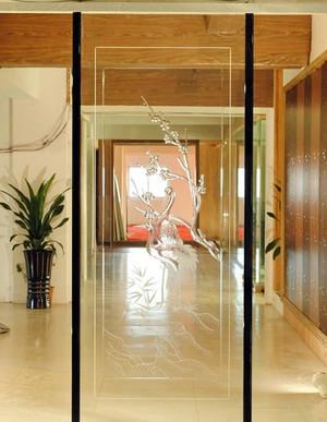 设计中的翘楚:2015室内玻璃隔断墙装修效果图欣赏