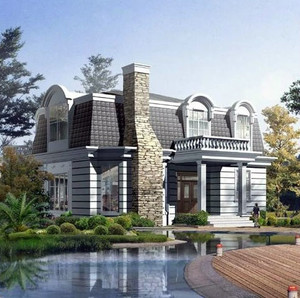 简欧风格别墅设计