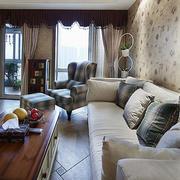 三室两厅沙发设计