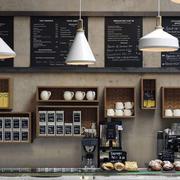 咖啡厅吊顶设计