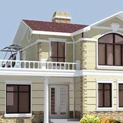 暖色调农村房屋设计