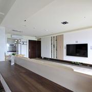 三室一厅吧台设计
